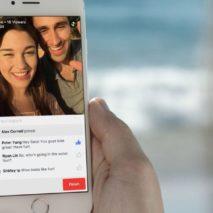 Facebook adds Live API to it's platform, increasing viewership (photo credit: Adweek)