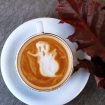 fall coffee design